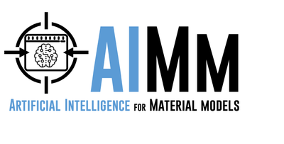 Artificial Intelligence for Material Models (AIMM)